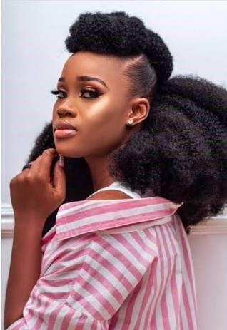 black women virgin hairstyle